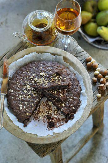8 Herfst- Chocoladetaart1
